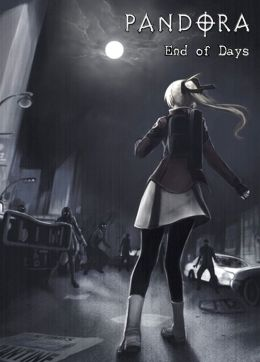 PANDORA End of Days [Volume 1 and 2] (Paranormal / Survival Horror / Zombie) 200 page Comic Book Manga Graphic Novel