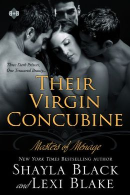 Their Virgin Concubine: Masters of Menage, Book 3