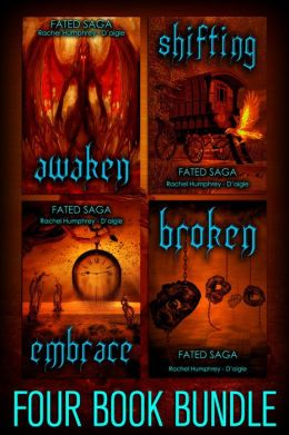 Fated Saga Fantasy Series Bundle, Books 1-3 (Awaken, Shifting & Embrace)