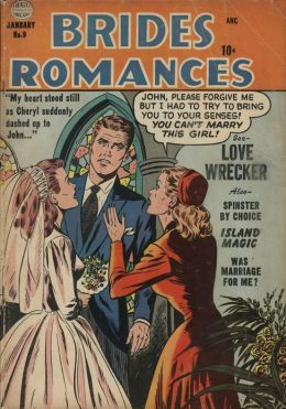 Brides Romances Number 9 Love Comic Book