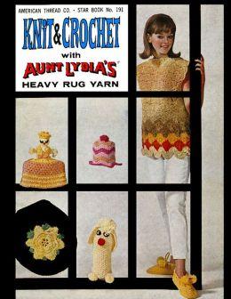 Ravelry: American Thread Company Aunt Lydia's Heavy Rug Yarn
