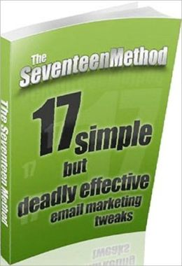 eBook about The 17 Method - I built up my back-end income with multiple sales to customers