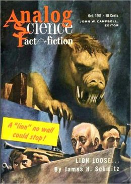 Lion Loose: A Science Fiction/Short Story Classic By James H. Schmitz! AAA+++