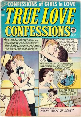 True Love Confessions Number 5 Love Comic Book