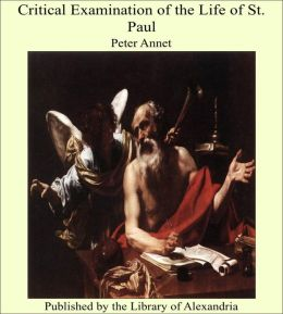 Critical Examination of the Life of St. Paul