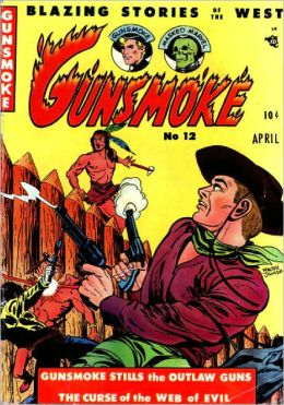 Gunsmoke Number 12 Western Comic Book
