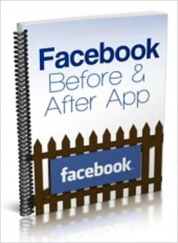 Facebook Before & After App