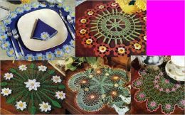 Unusual Floral Doily Patterns For Crochet