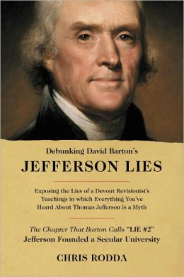 Debunking David Barton's Jefferson Lies