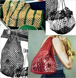 Mesh Styled Shopping Bags for Crochet and Laundry Bags for Crochet