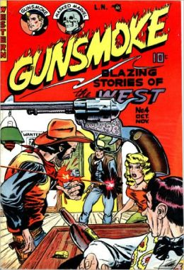 Gunsmoke Number 4 Western Comic Book