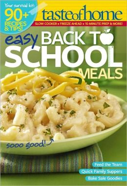 Easy Back to School Meals