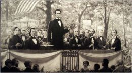 The first Lincoln and Douglas debate. At Ottawa, Ill., Aug. 21, 1858