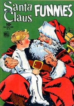 Santa Claus Funnies Number 61 Christmas Comic Book