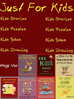 Just For Kids : Kids Jokes Stories Puzzles Drawing Book Pack