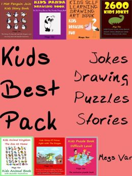 Kids Best Pack Jokes Puzzles Stories Drawing Books