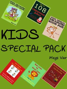 Kids Special Pack : Christmas Jokes Stories Puzzles Drawing Book Pack