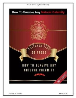 FYI about How To Survive Any Natural Calamity - What Will Happen During a Hurricane? (Hurricane Sandy Survive eBook)