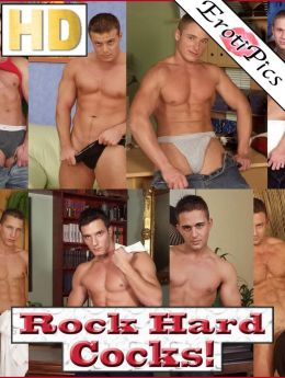 ROCK HARD COCKS! 11 Guys for the Price of 1! (Nude Picture Book - HD Edition)