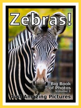 Just Zebra Photos! Big Book of Photographs & Pictures of Zebras, Vol. 1