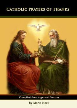 Catholic Prayers of Thanks