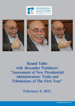 Assessment of New Presidential Administration of Ukraine:Trials and Tribulations of The First Year