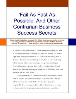 Fail Faster For Success