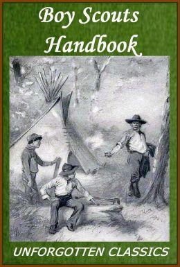 BOY SCOUTS HANDBOOK [Illustrated with chapter navigation]