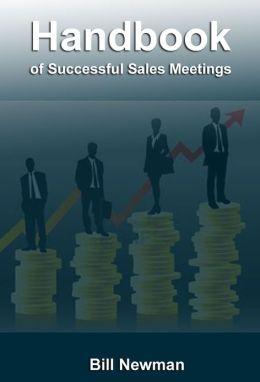 Handbook of Successful Sales Meetings