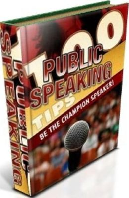 100 Public Speaking Tips - Way to increase your public speaking skills