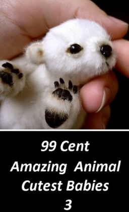 Children's Nonfiction: 99 Cent Amazing Animal Cutest Babies 3