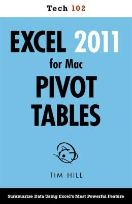 Excel 2011 for Mac Pivot Tables (Tech 102)