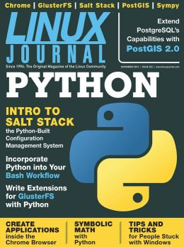 Linux Journal November 2012