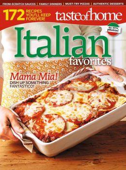 Taste of Home Italian Favorites