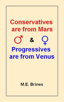 Conservatives Are From Mars and Progressives Are From Venus