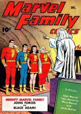 Marvel Family Number 1 Superhero Comic Book