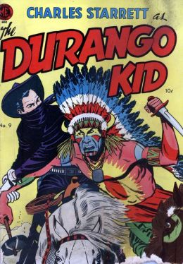 DURANGO KID Number 9 Western Comic Book