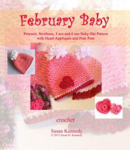 Susan's February Baby Valentine Hat Pattern