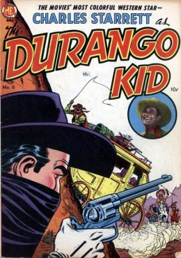 DURANGO KID Number 6 Western Comic Book