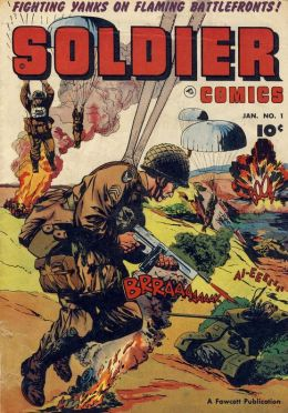 Soldier Comics Number 1 War Comic Book