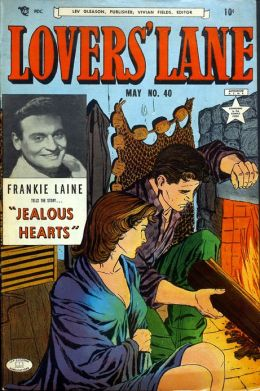 Lovers Lane Number 40 Romance Comic Book