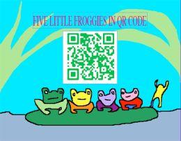Five Little Froggies In QR Code