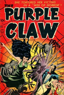 Purple Claw Number 2 Horror Comic Book