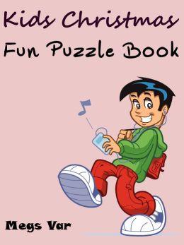 Kids Christmas Fun Puzzle Book