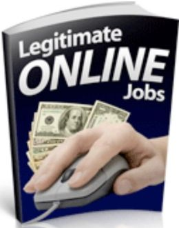 Make Money from Home eBook on Legitimate Online Jobs - What is involved?