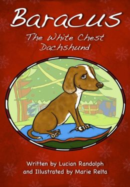 Baracus the White-Chest Dachshund