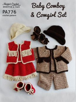 How to Crochet a Cowgirl Outfit | eHow
