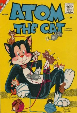 Atom the Cat Number 13 Childrens Comic Book