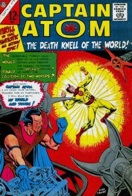 Captain Atom Number 80 Super-Hero Comic Book