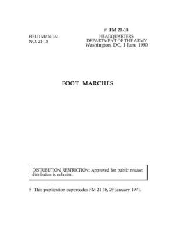 FM 21-18 Foot Marches